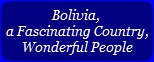 Read Fr. Thomas' Report on his visit to Bolivia